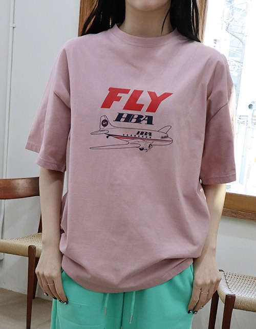 fly HBA half T-shirts(4 colors)
