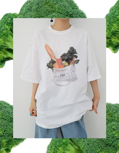 vegetable T (2 colors)